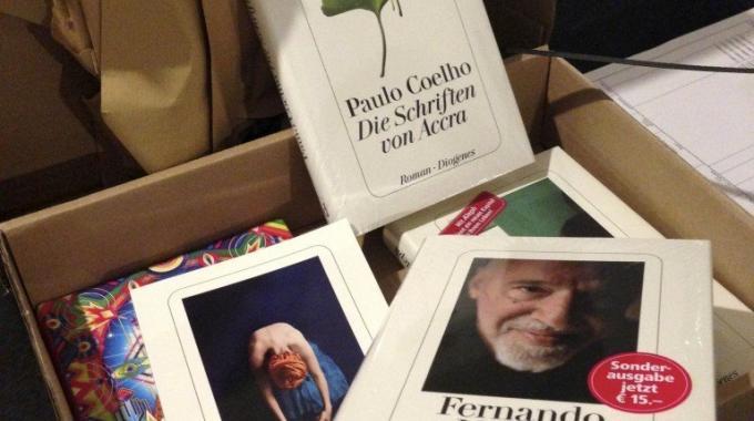 Buch Geschenk Vom Diogenes Verlag Für Coelho's Brida Buchtrailer