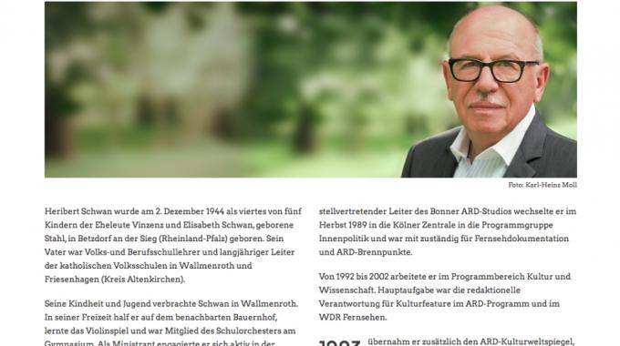 Helmut Kohl Protokolle Heribert Schwan Webdesign