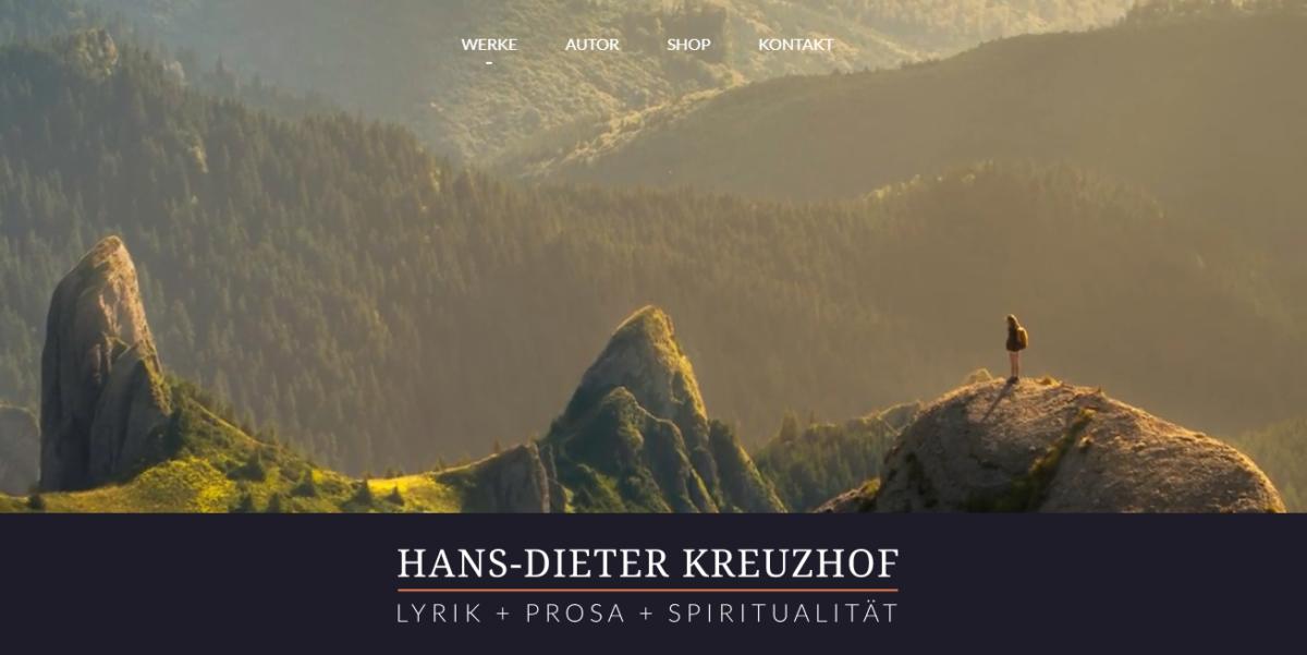 Website von Hans-Dieter Kreuzhof