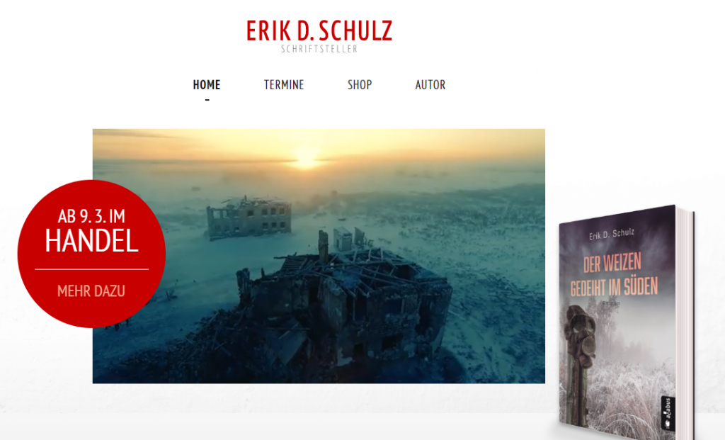 Webdesign Erik D. Schulz