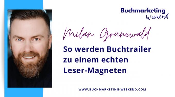 Milan Grünewald Als Experte Beim Buchmarketing Weekend